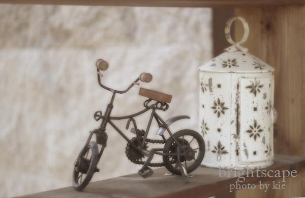 ノスタルジックな自転車